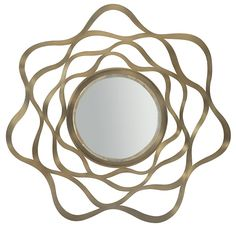 Make waves with this Profile mirror | Avenue Design, Montreal, Canada