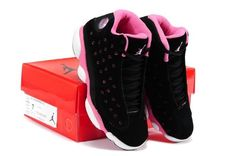 finest selection 693c1 07da1 Nike Air Jordan XIII 13 Retro 2014 New Womens Shoes Black Pink New Releases   womenshoesblack