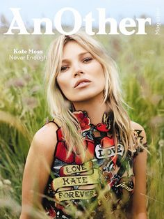 Kate Moss scored FOUR covers for the latest issue of 'Another' Magazine.