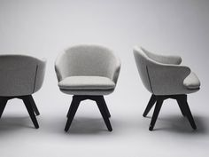 Temperature Design : August Swivel Chair possible desk chair Desk Chair, Swivel Chair, Armchair, Herman Miller Aeron Chair, Comfortable Living Room Chairs, Shabby Chic Table And Chairs, Desk Areas, Seat Cushions, Family Room