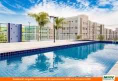 Paisagismo do Jangadas. Condomínio fechado de apartamentos localizado em Parnamirim / RN.
