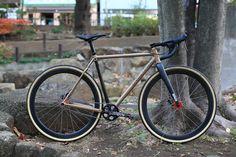 *HUNTER CYCLES* cx complete bike | par Blue Lug