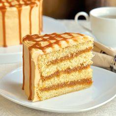 The Best Caramel Cake