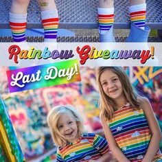 We're running TWO Pride month giveaways today!   It's the last 6 hours to enter our rainbow giveaway with @pridesocks and @babybaileymamadrama! Head over to our blog to win a set of #pridesocks for the family (up to 5 pairs) and an $100 gift card to Mitz Accessories! Contest ends at midnight tonight! Winner announced via email tomorrow at 10am EST.   TO ENTER: Link in bio. Entry form at the end of the blog post.   #mitzacessories #pridesocks #rainbow #rainbowgiveaway #pridemonth #love…
