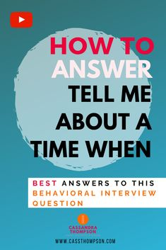 p/how-to-answer-tell-me-about-a-time-when-best-answers-to-this-behavioral-interview-question - The world's most private search engine Questions To Ask Employer, Behavioral Interview Questions, Job Interview Preparation, Interview Questions And Answers, Commonly Asked Interview Questions, Job Interview Answers, Job Interview Tips, Interview Coaching, Job Resume