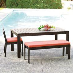 Wood Slat Dining Collection | West Elm