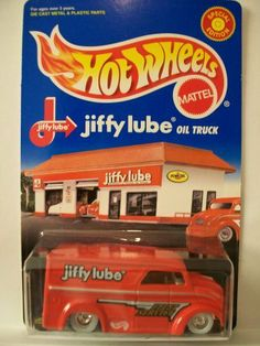 1999 Hot Wheels Jiffy Lube Dairy Delivery Limited Edition