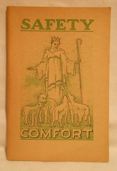 Watchtower J F Rutherford Booklet Saftey Comfort 1937 Jehovah's Witnesses