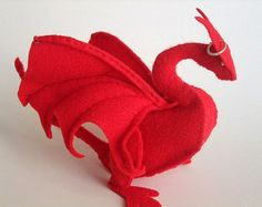 Camelot Dragon Plush PATTERN (PDF)