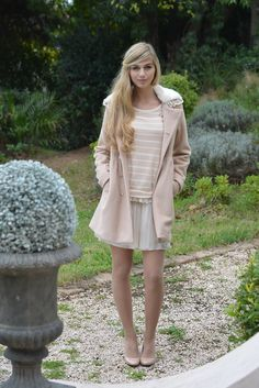 Molly Bracken #Fashion #Lightpink #Nude #Romantique