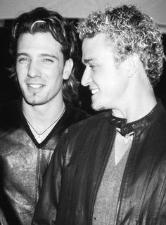 Justin Timberlake & JC Chasez #nsync