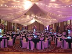 Ceiling Decorations for Parties | Services offered by Designs by Lisa - Professional Event Decorators ...