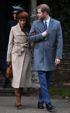 Meghan Markle Is The Princess Of Style In This Sentaler Camel Coat