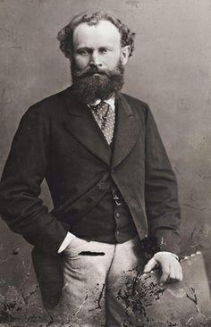 Portrait of Manet, 1874, by Felix Nadar