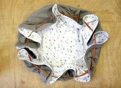 Tutoriel sac et tapis de jeu nomade 2en1 pour bébé http://blog.bleudesvosges.fr/diy/diy-tutoriel-tapis-jeu-nomade/