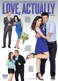 the end of the rainbow — teamrkburtkaharris: HIMYM cast inside the mag. I Meet You, Told You So, Barney And Robin, How Met Your Mother, Tv Show Couples, Ted Mosby, Yellow Umbrella, Netflix, Himym