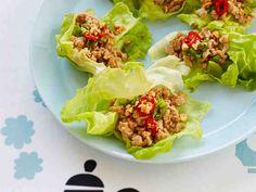 Aasialaiset broileri-salaattikupit