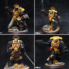 Warhammer Armies, Warhammer 40k Figures, Warhammer Paint, Warhammer Models, Warhammer 40k Miniatures, Warhammer 40000, Miniaturas Warhammer 40k, Silly Games, Imperial Fist