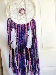Purple lovely dream catcher !