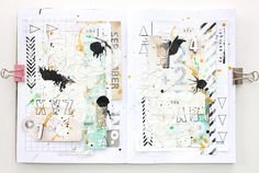 ** Chic Tags- delightful paper tags **: numbers and letters - an art journal adventure