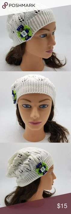 Seattle Sounders Beanie MLS Soccer Hat Sounders You will receive exactly what is pictured.   Handmade item from Puyallup, WA, USA.   Item is 100% acrylic, exclusive of flowers and ribbon.    Material is stretchy and one size fits most women.   Product Care  Instructions: Hand wash in cold water. Lay flat to dry, do not wring. Recommended to just spot clean as needed.   This item includes small parts/pieces, keep out of the reach of children. Beanie is for teens, young adults, adults. Bad Cat…