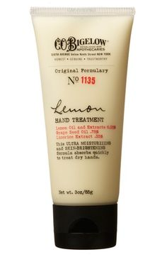 C.O. BIGELOW  Lemon Hand Treatment available at #Nordstrom