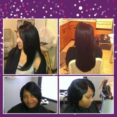 Top2:sew in/bottom2:quickweave