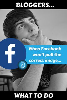 A checklist of things to try when Facebook doesn't pull the correct image for your latest blog post.