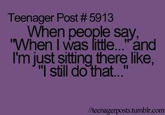 Hahaha, so true. So. Stinking. True.