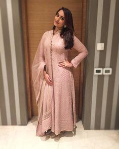 """Yay  or Nay  Sonakshi Sinha wearing a chikankari kurta set fromRimple & Harpreet Narulafor her father's book launch 'Anything but KHAMOSH' at Delhi…"""
