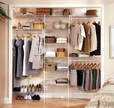 Vintage Den Kleiderschrank intelligent organisieren Pl ne und Lagerideen