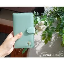 Image result for mint green diary