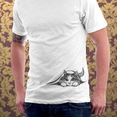 Cat tshirt Hiding Kitten Cat Kitty Cat Lover Cute por catssecret