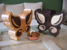 Butterfly bandsaw jewelry box by Woodeos