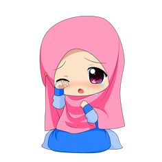 Chibi Muslimah 3 by TaJ92.deviantart.com on @DeviantArt