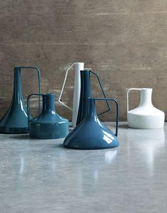 Ceramics : hidria vases by stefania vasques