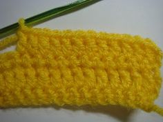 how to crochet a car appliqué - step #3