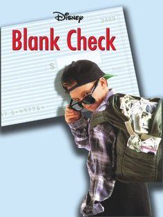 Blank Check starring Brian Bonsall, Karen Duffy. 11-year old Preston Waters fills a blank check for a million bucks. Amazon Affiliate Link.