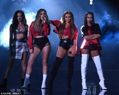 Little Mix Celebrate Album 'Glory Days'!: Photo Major congrats to Little Mix! The ladies -- Perrie Edwards, Leigh-Anne Pinnock, Jesy Nelson, and Jade Thirlwall -- are celebrating their brand-new album, Glory… Little Mix Girls, Little Mix Outfits, Little Mix Style, Little Mix Fashion, Jesy Nelson, Perrie Edwards, Dvb Dresden, Cool Girl, My Girl