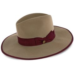 Shadow Stetson Wool Felt Fedora Hat Want to make a statement? The Shadow Stetson Wool Felt Fedora Hat is the perfect hat to do it! Made of wool felt. Fedora Hat Women, Fedora Hats, Hat Men, Women's Hats, Western Hats, Cowboy Hats, Stetson Fedora, Safari Hat, Sun Protection Hat