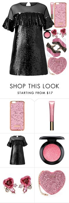 """Nice"" by egordon2 ❤ liked on Polyvore featuring Skinnydip, Clarins, MAC Cosmetics, Betsey Johnson, Furla and Charlotte Olympia"