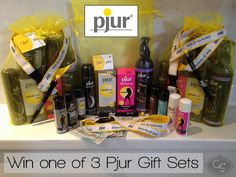 Competition: Win one of three £100+ Pjur Lubricant Sexy Gift Sets! | Cara Sutra http://carasutra.co.uk/2014/05/competition-win-one-of-three-100-pjur-lubricant-sexy-gift-sets/