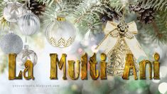 Image result for IMAGINI CU FELICITARI DE ANUL NOU Birthday Message For Friend, Birthday Messages, An Nou Fericit, Xmas Wishes, Moon Pictures, Happy New Year 2019, Christmas Pictures, Winter Holidays, Christmas Bulbs