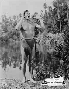 Tarzan | Johnny Weissmuller - Über diesen Star - Star - Cinema.de 6/2/04 - 1/20/84