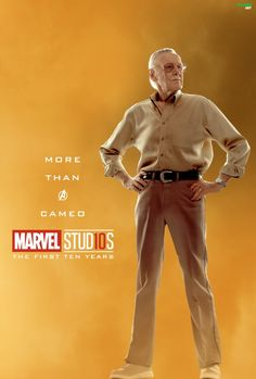 #StanLee More Than Cameo Character posters for Marvel Studios' 10th anniversary #Marvel Stud10s