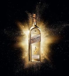 Golden Map Johnnie Walker Gold Label Reserve Exclusive Travellers Edition