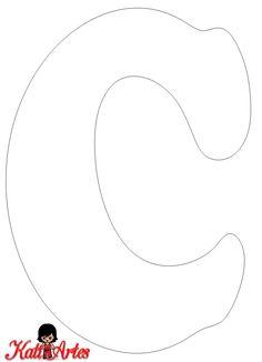 Free printable A-Z font Alphabet Letter Templates, Alphabet Stencils, Printable Letters, Letter A Crafts, Alphabet And Numbers, Free Printable, Bubble Letters, Felt Letters, Letter Standee