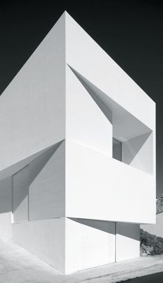 """I like saying the most with the least"""" - BOB NEWHART - (Fran Silvestre Arquitectos: House on the Castle Mountainside Ayora, Spain) Architecture Design, Minimal Architecture, Facade Design, Residential Architecture, Contemporary Architecture, Amazing Architecture, Building Architecture, Architecture Interiors, House Design"""