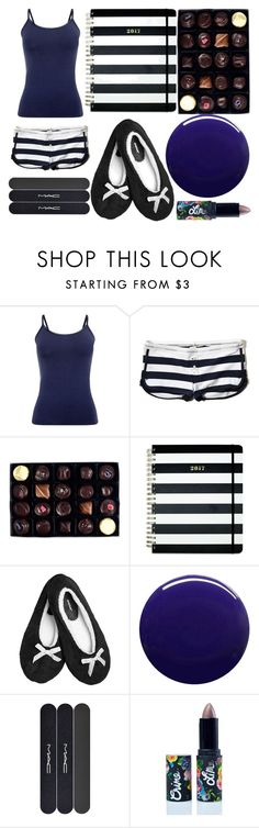 """Sans titre #5448"" by crazymoustik ❤ liked on Polyvore featuring Phase Eight, Hollister Co., Rococo Chocolates, Kate Spade, Avenue, Nails Inc., MAC Cosmetics and Lime Crime"