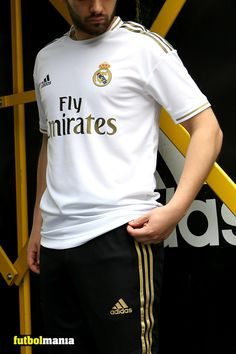 Tienda Real Madrid, Adidas Real Madrid, Soccer Players, Bmx, Outfit Ideas, Football, Street Style, Mens Tops, Outfits